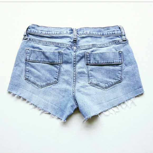 Old Navy Pants - Old Navy Distressed Cut Off Jean Shorts